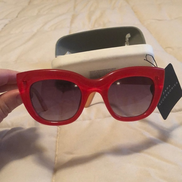 3559fc009074 ZARA Accessories | Brand New Cat Eye Glasses | Poshmark